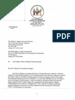 Mayor Sheehan - Pilgrim Pipeline Letter