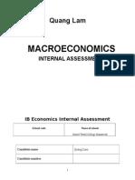 Economics Macro IA