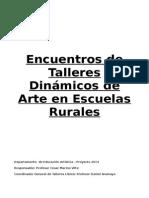 Encuentros en Escuelas Rurales - Diagnostico y Fundamento Tentativo