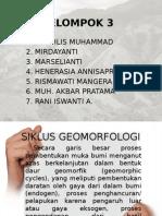 Presentation Tugas Geomorfologi