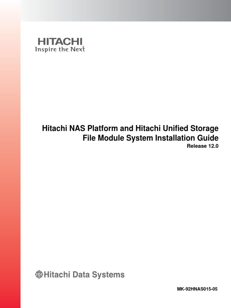 Hitachi Nas Platform and Hus File Module System Installation Guide | Tab  (Gui) | Graphical User Interfaces
