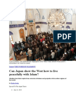 Can Japan Show the West How to Live Peacefully With Islam
