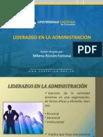 Memorias Clase Liderazgo Liderazgo en La Administracion