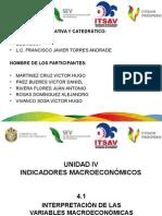 Unidad IV - Indicadores Macroeconómicos