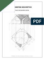 Cours de Géométrie Descriptive