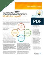 ecmap investinginearlychildhooddevelopment factsheet 20130903