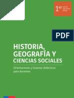 Ciencias Sociales 1 Medio
