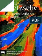 Nietzsche - La Genealogía de La Moral