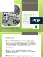 Sesion 1 (Politica, Poder, Legitimidad)