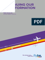 Flybe Group Plc FLYBGB Annual Report for Period End 31Mar2015 English PDF