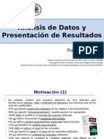 Charla Patología Experimental-Resultados