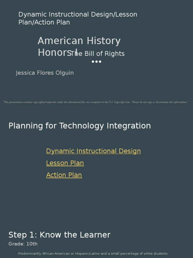 Dynamic Instructional Design Lesson Plan Action Plan Instructional Design Lesson Plan