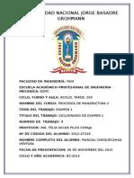 Caratula de Pilco Procesos de Manofactura