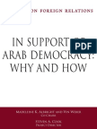 CFR - Arab Democracy TF