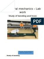 Bending Lab Report (Daniel Díaz, Harish & Jayanth)