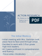 educ action research powerpoint