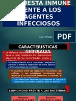 Respuesta Inmune Frente a Los Agentes Infecciosos