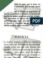 presentación justicia