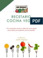 Recetario Cocina Vegan