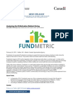 dt514926 - fundmetric incorporated - news release