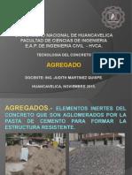 3° CLASES DE TECNOLOGIA DEL CONCRETO AGREGADOS