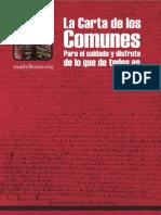 La Carta de Los Comunes-TdS
