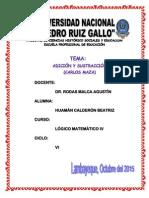 4. ADICIÓN Y SUSTRACCIÓN - CARLOS MAZA