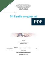 Proyecto Mi Familia Me Gusta Así