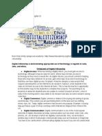 My Digital Citizenship Resources