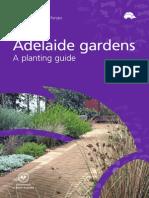 Adelaide Gardens Planting Guide