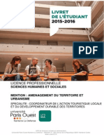 Licence Pro Atmue Francois Bost