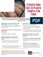 FSMA2015 5PASOS