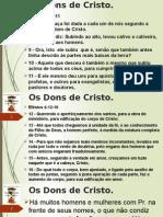Os Dons de Cristo