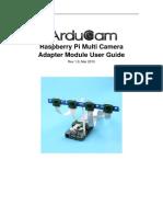 RaspberryPi Multi Camera Adapter Module UG