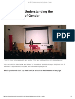 My TED Talk_ Understanding the Complexities of Gender