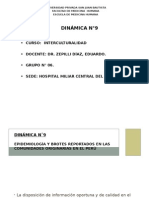 EPIDEMIOLOGÍA Y BROTES REPORTADOS EN LAS COMUNIDADES ORIGINARIAS EN EL PERÚ