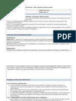 digital unit plan - goals objectives and assessments