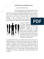 3.4.7 Tres Dilemas Eticos de La Empresa Actual