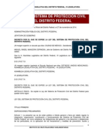 Ley Del Sistema de Proteccion Civil DF 2014-11-27