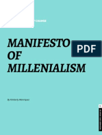 manifesto of millennialism