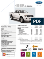 Ford Ranger XL 6 Speed MT Price List_Langkawi