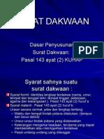Surat Dakwaan