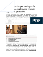 Las Denuncias Por Mala Praxis Psicológica Evidencian El Vacío Legal de La Profesión
