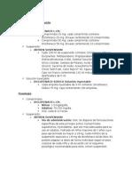 Diclofenaco y Ketorolaco