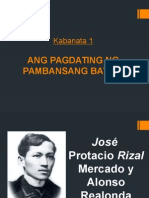 Rizal Kabanata 1
