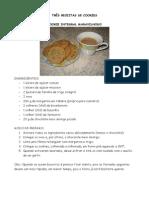 Três Receitas de Cookies