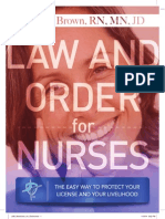 eBook Law and Order for Nurses