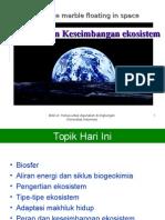 Topik2-ekosistem & keseimbangan ekosistem (add).ppt
