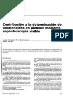 Contribución a La Determinación de Carotenoides-piemsos