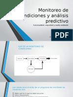 Monitoreo de Condiciones y Análisis Predictivo